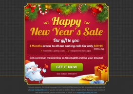 Christmas Sale Email Template