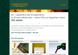 Eirovins Email Template