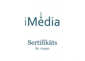 iMedia certificate