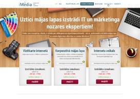 iMedia Landingpage