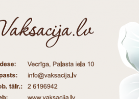 Vaksacija business card